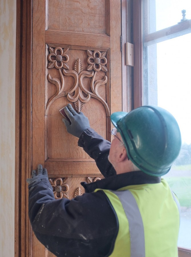 Image #3 of Adare Manor Timber Panelling