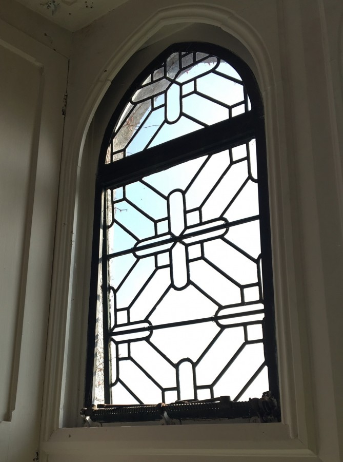 Image #2 of Adare Leaded Glass