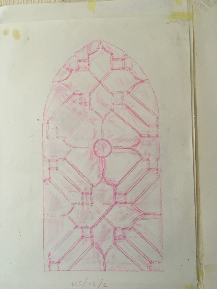 Image #3 of Adare Leaded Glass