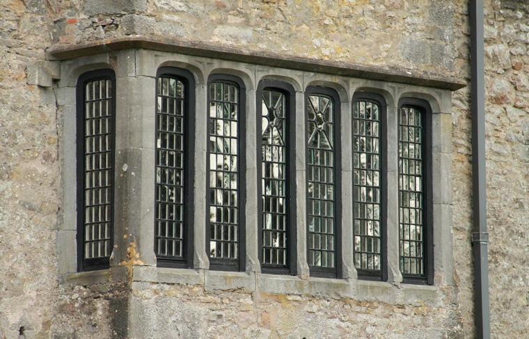 half georgian window